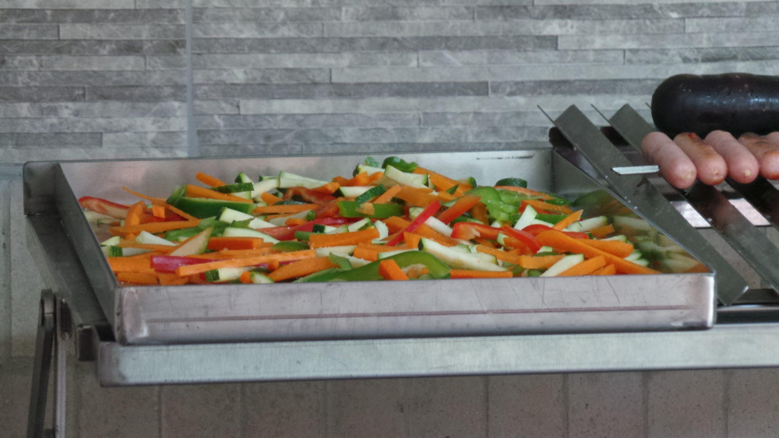 Receta Verduras a la Plancha MacBeef